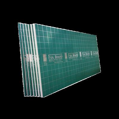 Foilboard Insulation Green Rigid Panels