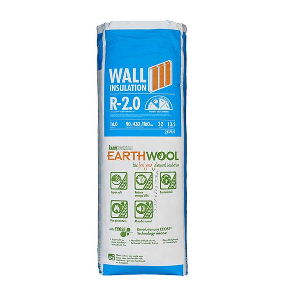 R2.0 Knauf Earthwool® Underfloor Insulation Batts