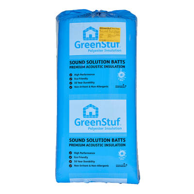 Greenstuf® Polyester Sound Solution® Acoustic Insulation